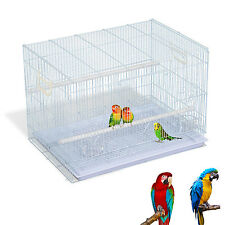 """PROMOTION 30"""" Metal Bird Cage Transport Wire Carrier Pet Play House W/ Tray"""
