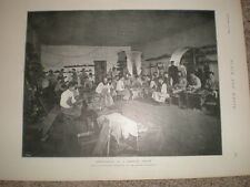 Printed photo shoemaking in a siberia prison russia 1896 Rf S