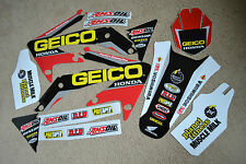 GEICO TEAM GRAPHICS HONDA CRF450R CRF450  2005 2006 2007 2008