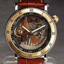 NEW GOLDEN BRIDGE JELLY DIAL DESIGN Luxury Men Wrist Watch Mechanical relojes 34