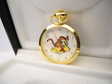 Colibri Winnie the Pooh Tigger Necklace Watch Charm new as-is