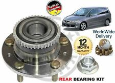 FOR MAZDA PREMACY 1999-2004 1.8i 2.0i 2.0DT MPV  NEW REAR WHEEL BEARING HUB KIT