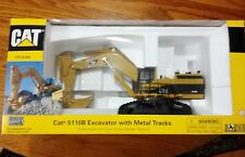 Norscot Caterpillar Cat 5110B Excavator Metal Tracks 1:50 Scale Diecast Models