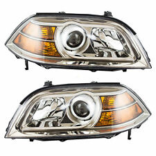 For Acura Mdx 04-06 Right & Left Pair Set Headlights Headlamps