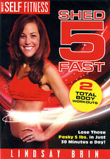 Best Self Fitness: Shed 5 Fast (DVD) **New**