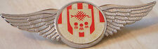 SHEFFIELD UNITED Vintage 70s 80s insert type Badge Brooch pin Chrome 76mm x 26mm