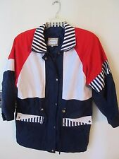Current Seen Woman's Jacket Size Medium Red White Blue