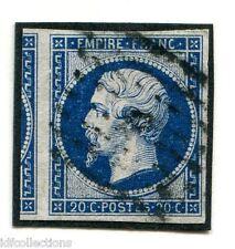 Classique de France Napoléon N°14 Ab bleu noir avec voisin