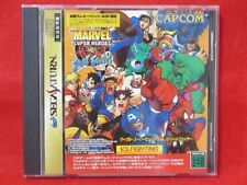Sega Saturn Marvel Super Heroes VS Street Fighter Japan SS