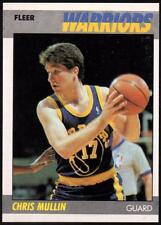 1987-88 Fleer #77 Chris Mullin EX-MNT slight ding on top left corner