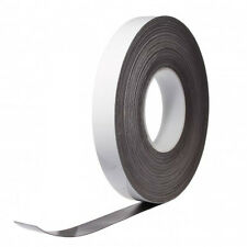 Magnetic Dry Wipe Identification Tape - Reusable, Rewritable - 5 mtr length
