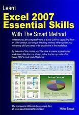 Learn Excel 2007 Essential Skills with the Smart Method : Courseware Tutorial fo