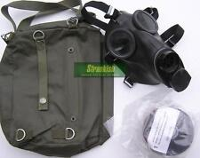 GENUINE SWISS ARMY SM67 GAS MASK RESPIRATOR & FILTER & SM74 BAG