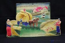 alte Kalender Halterung aus geprägter Pappe um 1930