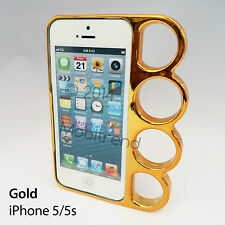 Knuckle Bumper Plastic Case Cover for Apple iPhone 4 / 4S / 5 / 5S  UK Fast Post