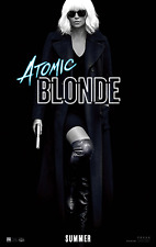 Atomic Blonde Movie Poster (24x36) - Charlize Theron, James McAvoy, Boutella