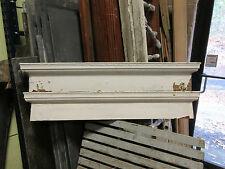 """PAIR c1880 VICTORIAN HEART pine window DOOR header pediment crown MOLDING 45"""" L"""