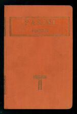 PARINI GIUSEPPE POESIE ISTITUTO EDITORIALE ITALIANO CLASSICI ITALIANI XXII