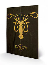 Game of Thrones Holzdruck Greyjoy 40 x 60 cm NEU & OVP
