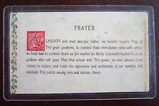 """GEN. GEORGE PATTON'S """"3RD ARMY PRAYER"""" - CHRISTMAS 1944 with AUTOGRAPH"""