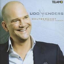 Weltberühmt (in meinem Herzen) von Udo Wenders (2013), Neu OVP, CD