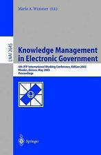 Knowledge Management in Electronic Government: 4th IFIP International Working Co