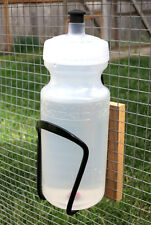 Brooder Bottle Nipple Waterer for Chicks and Chickens (20 fl. oz.) + Cage Mount