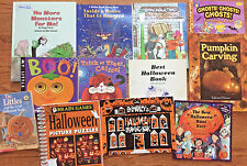 Halloween Lot of 12 Board Books, Reader, Picture Books, Pumpkin Carving