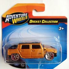 Maisto Hummer Humvee H2 Concept 1/64 scale diecast toy  model - gold