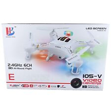 RC 2,4GHZ 3D Quadrocopter 105-V Haobo Toys HD Kamera CX20 Optik Drohne