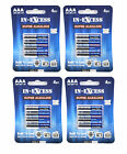16x (4 packs of 4) In-Excess Super Alkaline Batteries Size AA LR6-AM3-1.5V