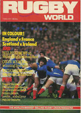 RUGBY WORLD MAGAZINE FEBRUARY 1983 - PERFECT GIFT FOR A FAN BORN IN THIS MONTH