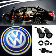 2 x VW Logo LED Light Bulbs Projection Courtesy Lights Decorative Tuning