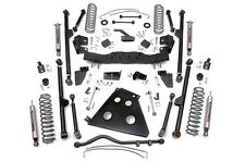 "Jeep Wrangler JK 4"" Long Arm Suspension Lift Kit w/ Shocks 2012-2017 4-Door"