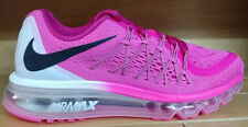 Nike Air Max 2015 GS Size 6 Youth 6Y Pink Pow Black White Girls Shoe 705458-600