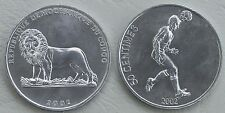 Kongo / Congo Democratic Republic 50 Centimes 2002 p75 unz.