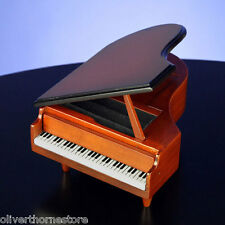 San Francisco Music Box Company Wooden Piano - Jewelry & Ring Box NIB