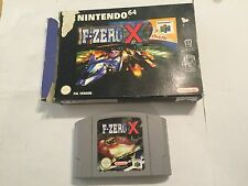 UK/EURO PAL NINTENDO 64 N64 GAME F-ZERO X CARTRIDGE +BOX PAL