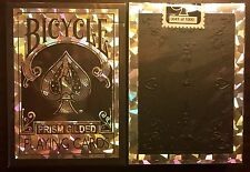 Bicycle Prism Gilded Edges Playing Cards Rare Deck 1000 Made