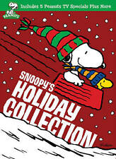 NEW Snoopy's Holiday Collection 5 Peanuts Specials +, new DVD set, Charlie Brown
