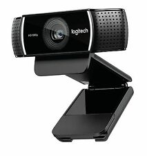 Logitech HD Pro Stream With Mic Webcam C922 Full HD 1080P Video Auto Focus 14MP