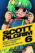 SCOTT PILGRIM COLOR EDITION VOL #6 HARDCOVER Bryan O'Malley HC NEW