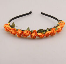 Women Girl Garland Floral Flower Hair Band Hairband Headband Wedding Accessories
