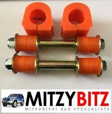PAJERO SHOGUN MK2 LWB 91-99 NEW REAR 26MM ANTI ROLL BAR BUSHES & DROP LINKS KIT