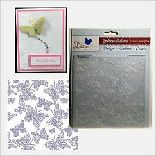 Crafter's Companion Embossing folders ORNATE BUTTERFLIES EF6-ORNBT folder