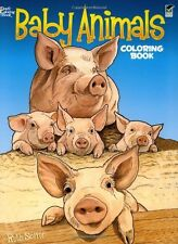 Coloring Books For Adults GrownUps Baby Animals Stress Relieving Relax Designs