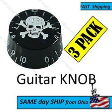 skull guitar knob set - aftermarket