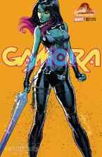 GAMORA 1 J SCOTT CAMPBELL COLOR YELLOW BACKGROUND VARIANT GUARDIANS GALAXY