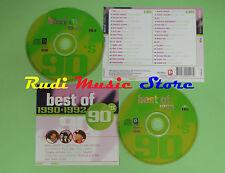 CD BEST OF 90'S 1990 + 1992 compilation 2003 MC HAMMER SHAGGY MARILLON (C17)