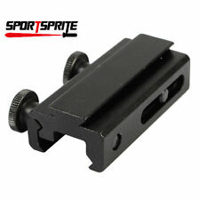 20mm to11mm Converter Adapter Base Dovetail to Riser Rail Scope Mount